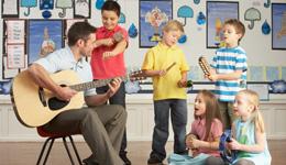 Singen, Tanzen und Musizieren mit Kindern